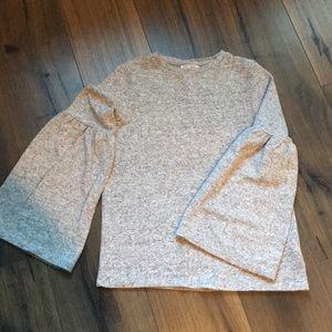 Zara bell sleeve sweater
